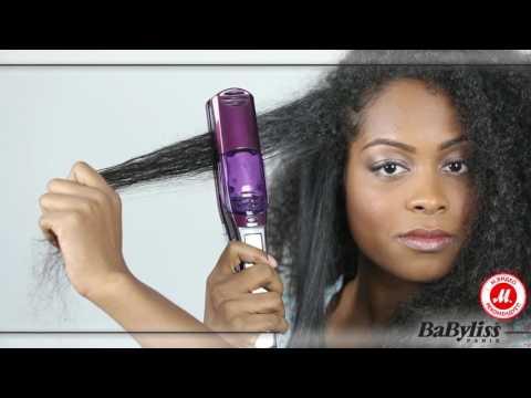 Паровое выпрямление волос одним движением с BaByliss I-PRO 230 STEAM ST395E