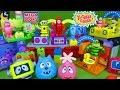 Lots of Yo Gabba Gabba Mega Bloks Toys Plex Buggy Boombox Foofa Toodee Brobee and Muno Land Toys