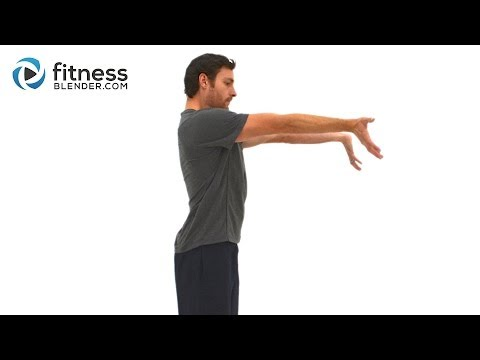 Upper Body Active Stretch Workout - Arms, Shoulder, Chest, and Back Stretching Exercises