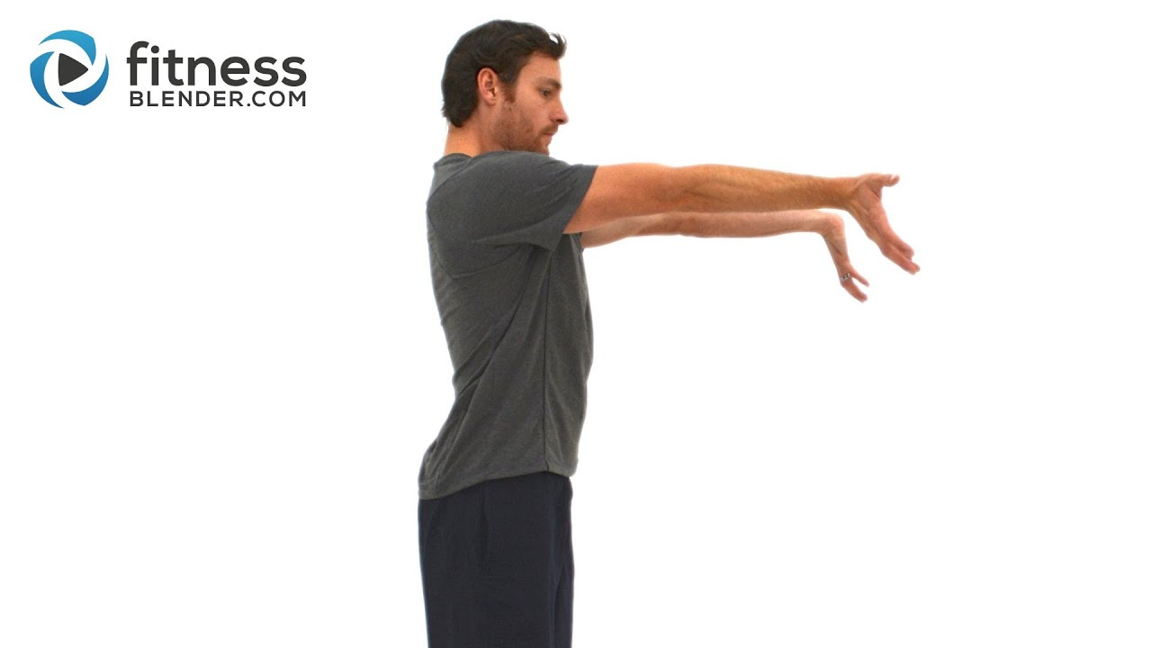 Upper Body Active Stretch Workout Arms Shoulder Chest And Back