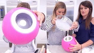failzoom.com - 🍦 Making ICE CREAM in a BALL!