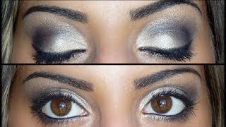 PURPLE SMOKEY EYE MAKE-UP TUTORIAL