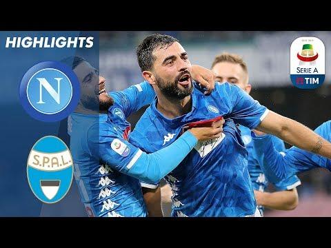Napoli 1-0 SPAL | Napoli earn 4th Straight Win | Serie A