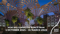 Expo 2020 will now welcome the world on 1 October 2021