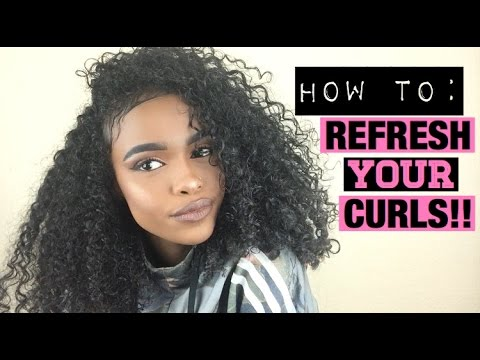 HOW TO: REFRESH & MAINTAIN DAY 4 CURLY HAIR | HALSSA