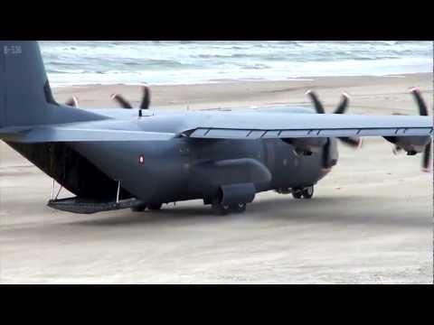 C-130 Hercules - Beach Landing