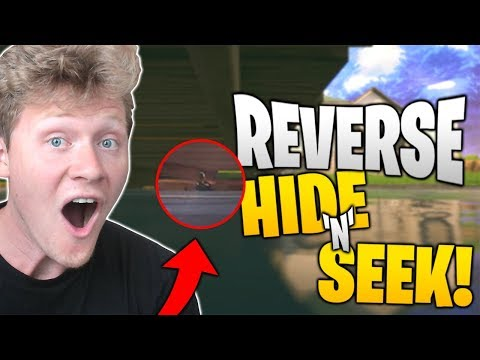 FORTNITE REVERSE HIDE 'N' SEEK WITH JESSER, LSK, and MOPI!