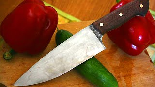 Knifemaking - How to make a kitchen knife