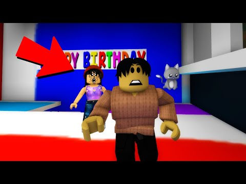 The creepy birthday girl is following me in Roblox BrookHaven RP..
