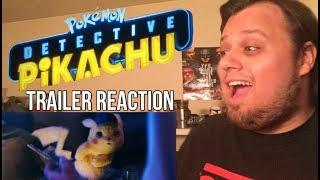 POKÉMON Detective Pikachu Official Trailer Reaction & Review