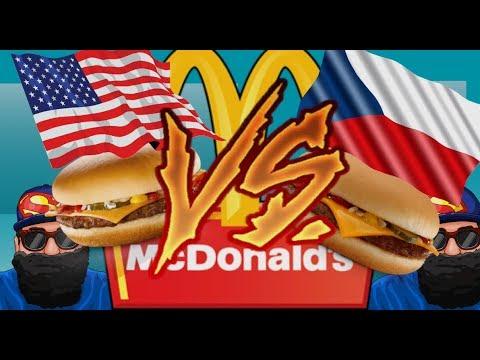 Americký McDonald VS Český McDonald. Který je lepší?