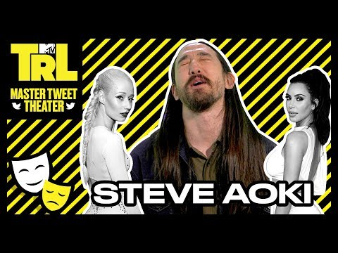 Steve Aoki Goes All Out In His Impressions Of Louis Tomlinson & Iggy Azalea   Master Tweet Theater 🎭