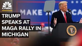 President Trump speaks aт Make America Great Again rally in Michigan — 10/27/2020