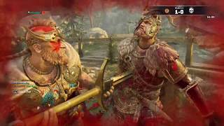 FOR HONOR | Caber Toss and Kick Mix Up  - Highlander Duel Gameplay PS4 PRO