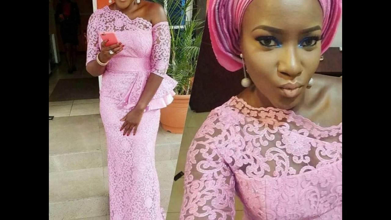 2f8ae5601 100+ Nigerian Aso Ebi Styles and French Lace Aso Ebi Styles - YouTube