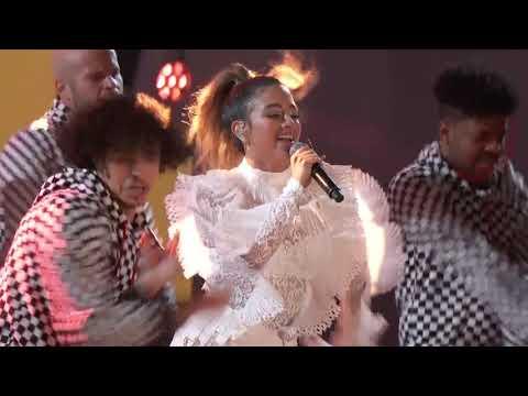 Kris Kross Amsterdam ft. Ally Brooke & Messiah - Vámonos (Live at The 2018 Alma Awards)