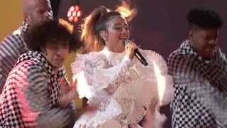 Kris Kross Amsterdam ft. Ally Brooke & Messiah - Vámonos (Live at The 2018 Alma Awards)