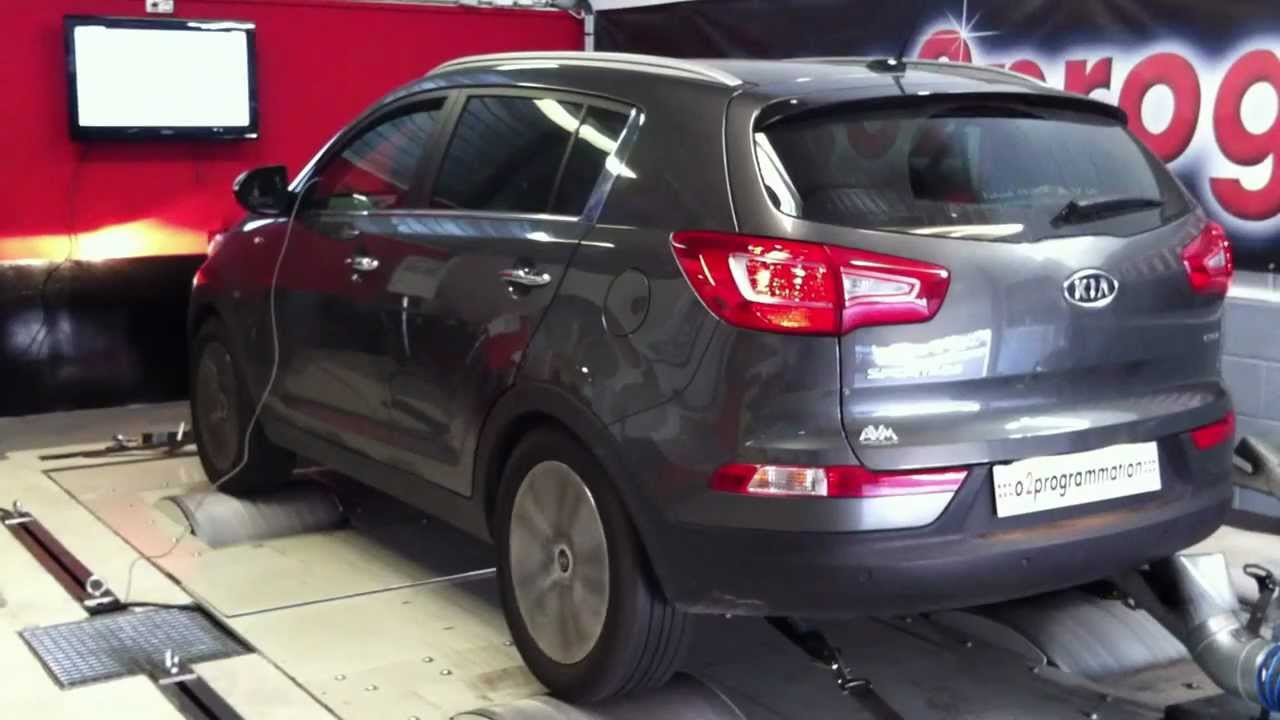 test dyno reprogrammation moteur kia sportage 2012 136 ch bva o2programmation youtube. Black Bedroom Furniture Sets. Home Design Ideas