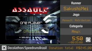 Decolathon 2017: Assault: Retribution Any% por SakushiMei