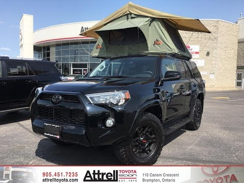 2017 Toyota 4Runner TRD Off-Road - MODIFIED - TEPUI ROOF TOP TENT! - Attrell Toyota - Brampton ON