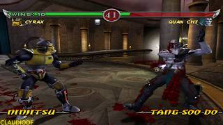 Mortal Kombat Deadly Alliance CYRAX - (VERY HARD) - (GameCube)【TAS】