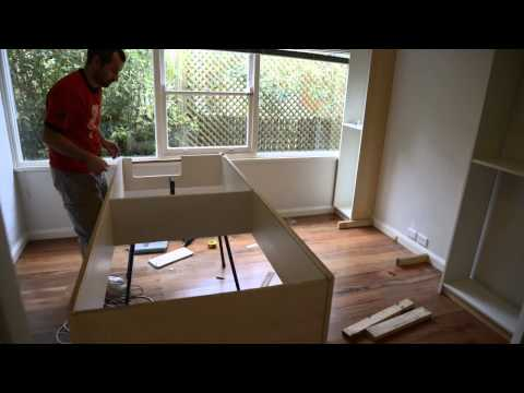 Ikea Hack - Billy Bookshelf