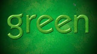 Зеленый стильный текст | Green style text