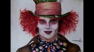 Mad Hatter - Speed drawing