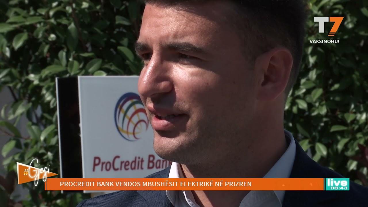 #gjesi: Procredit Bank vendos mbushësit elektrikë në Prizren
