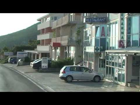 Driving through Neum, Bosnia and Herzegovina