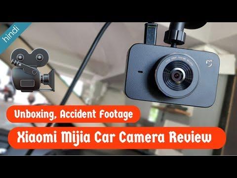 Hindi - Xiaomi Mijia Car DVR Camera Unboxing & Review
