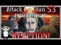 Attack On Titan Season 3 Episode 16 -18 Reaction ! | Shingeki no Kyojin S3 Episode 16-18 Exaplied