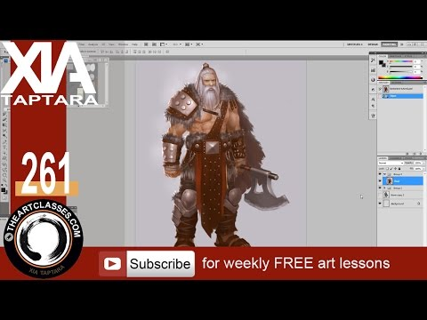 Character design Barbarian video tutorial preview
