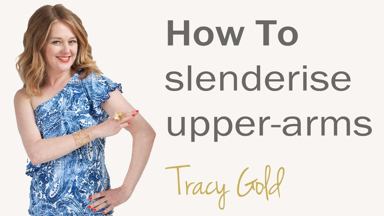 a8d2e450b17 Secrets to slim dressing for over 40 s - how to make your upper arms look  slimmer for women over 40