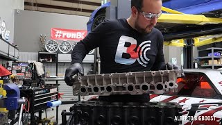 homepage tile video photo for 2JZ RACING CYLINDER HEAD INSTALL ULTRA DETAILED