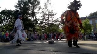 �������� ���� Индейская музыка+песня+танец. Camuendo Wuambrakuna и Co. Город Чайковский. 29 мая 2015 ������