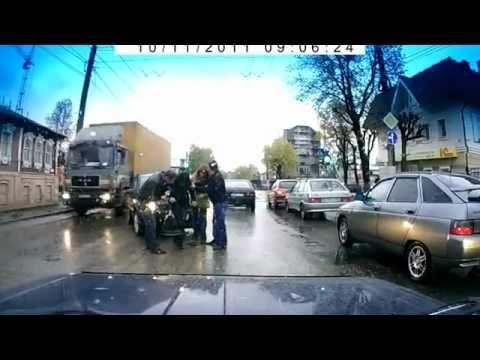 ДТП в Иваново, ул. Смирнова, наезд на пешехода, 11.10.2011