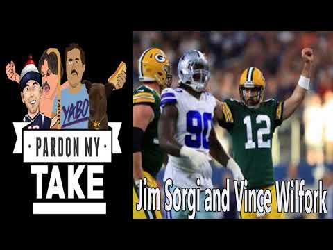 SPORTS & RECREATION - Pardon My Take - Ep.#10.4: Jim Sorgi and Vince Wilfork