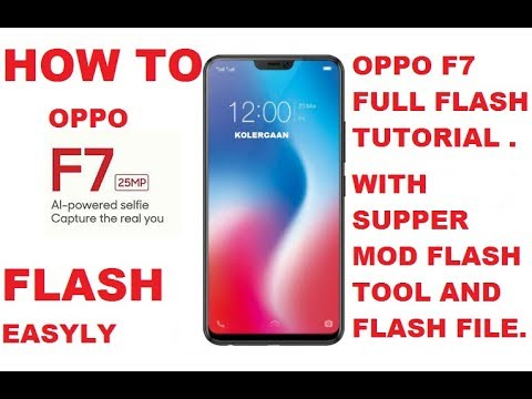 HOW TO FLASHING OPPO F7 MT6771 VERY EASY WAY WITH FLASH TOOLS AND