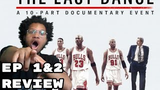 The Last Dance: Michael Jordan Documentary Review EP 1 And 2