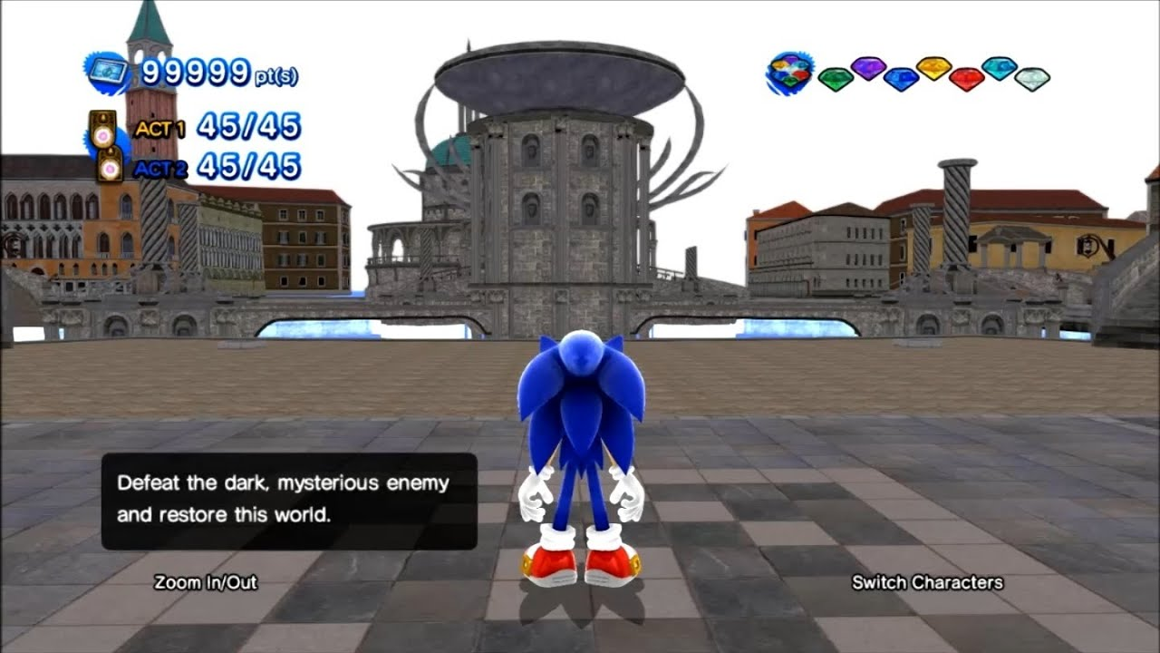 Sonic Generations Sth2006 Project Porting Hub World Test 2