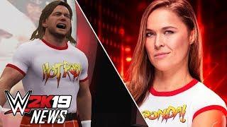 WWE 2K19 - Roddy Piper Return, Ronda Rousey Details & Motion Capture! (WWE 2K19 News)