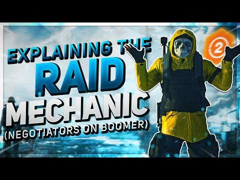 NEGOTIATORS ON BOOMER IS KEY The Division 2  Explaining Raid Mechanics (Dark Hours Raid)