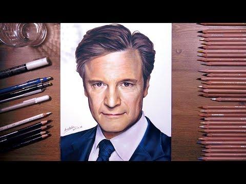 Drawing Colin Firth | drawholic