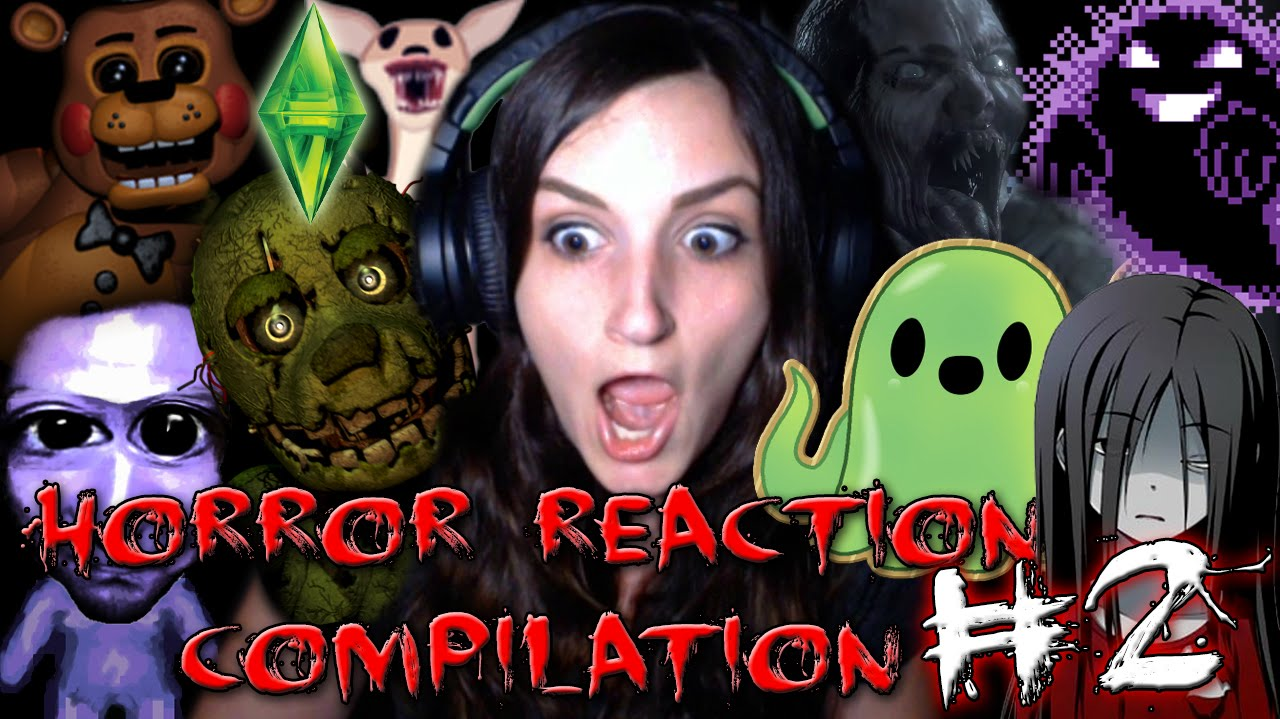 Best Horror Game Reactions Compilation #2 (Happy Late ...
