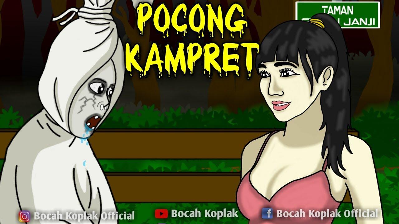 Download Dasar Pocong Kamvret Kartun Hantu Lucu Bocah Koplak Lucinta Luna