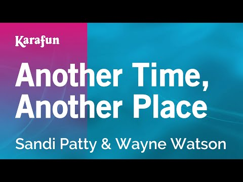 Karaoke Another Time, Another Place - Sandi Patty *