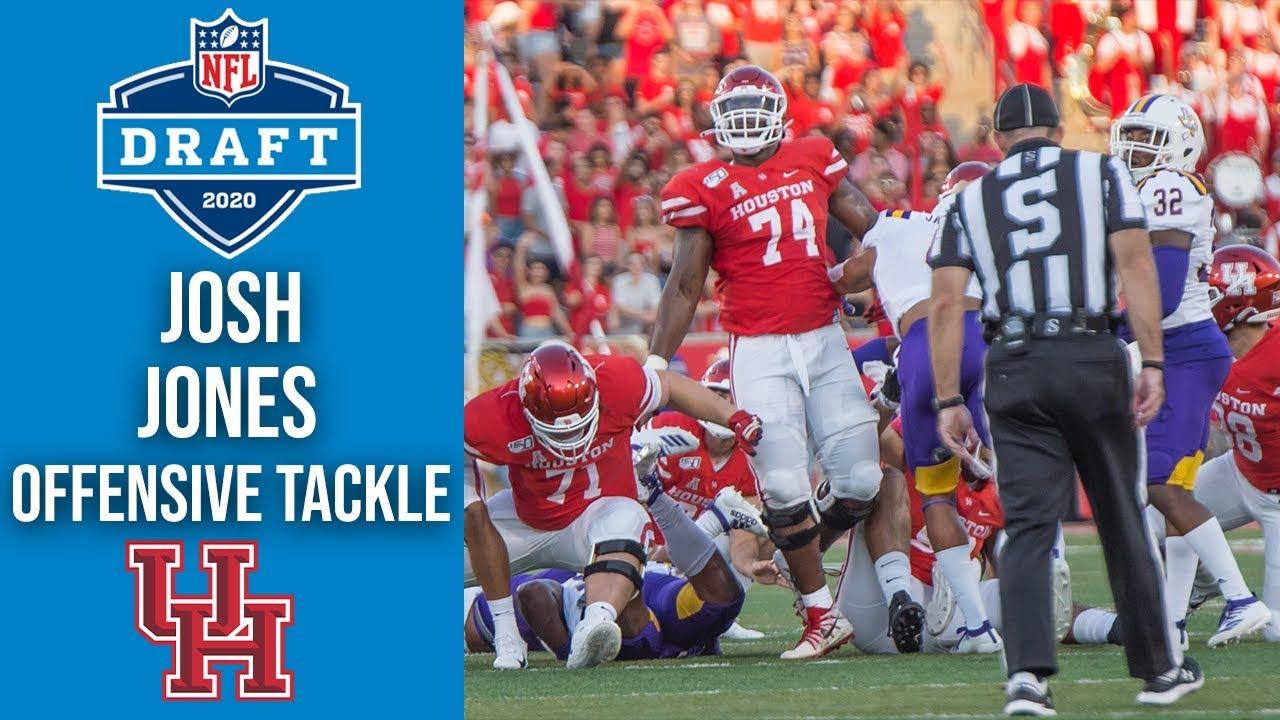 Josh Jones   #74 Left Tackle   Houston   2020 NFL Draft Profile ...