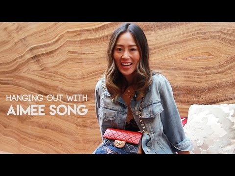 Watch Aimee Song talk about her makeup secrets and the catty fashion industry