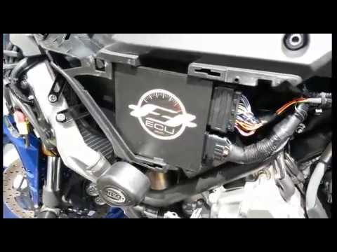 YZF R1 FTECU FLASH TUNE ECU SIDE WIRING INSTALL YZF R1M - YouTube